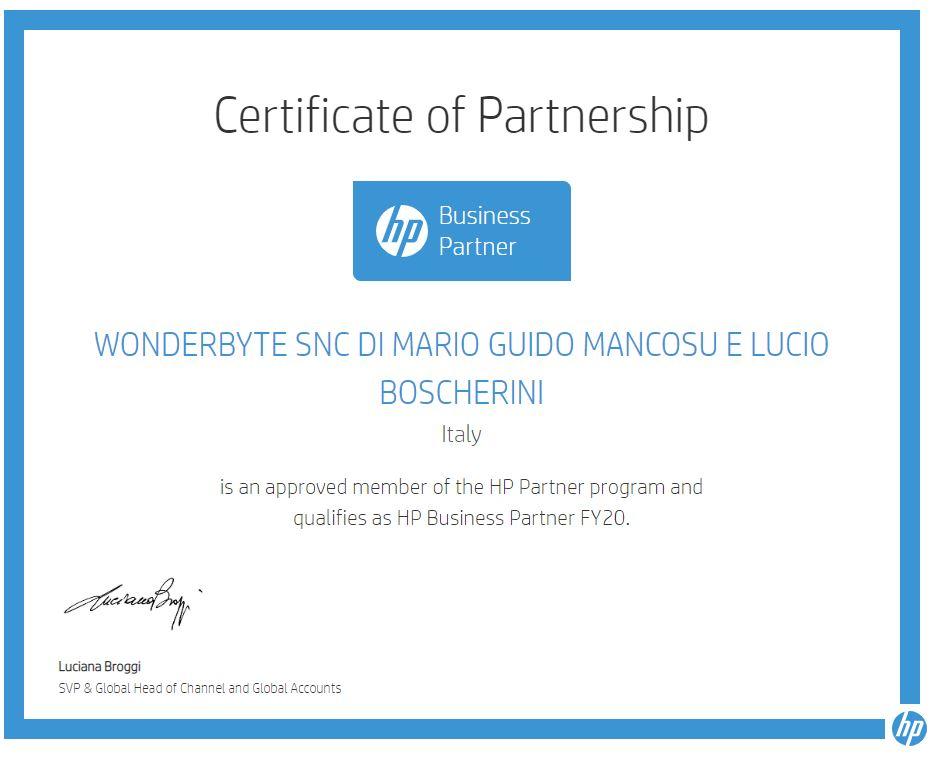 2020 08 01 11 27 46 My Business Partner Certificate Hp Partner Portal E Altre 15 Pagine Personal
