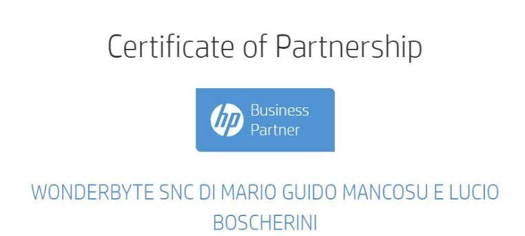 2020 08 01 11 28 55 Hp Business Partner 2020 Wonderbyte S.n.c E Altre 16 Pagine Personale Micr